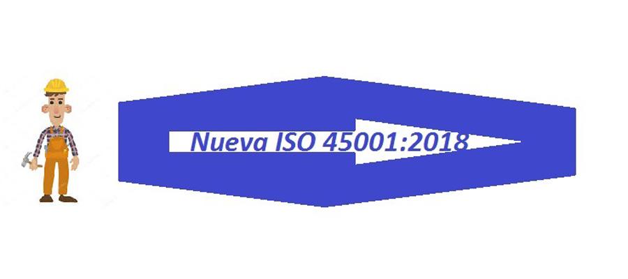 Proceso de IMPLANTACIÓN DE LA NUEVA ISO 45001:2018